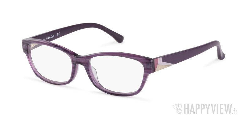 Lunettes de vue Calvin Klein CK 5836 violet - vue de 3/4