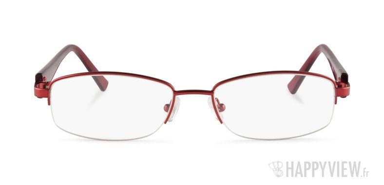 Lunettes de vue Happyview Montrouge rouge - vue de face