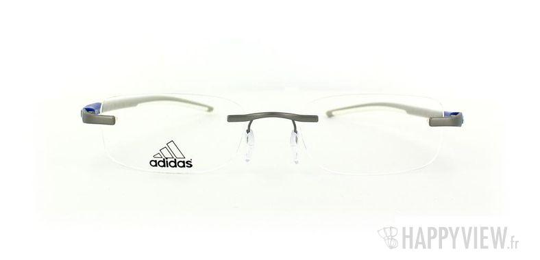 Lunettes de vue Adidas Adidas A642 gris/bleu - vue de face