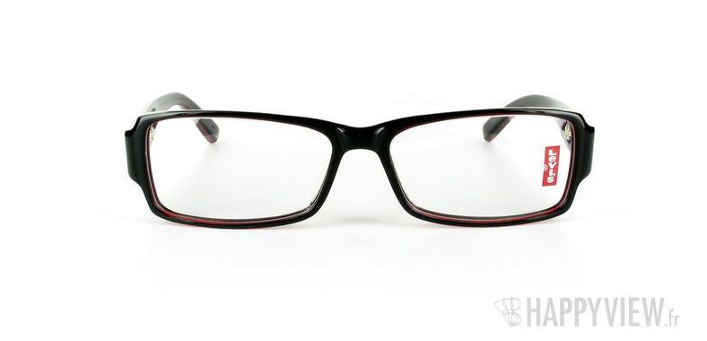 Lunettes de vue Levi's Levi's 2008 rouge/noir - vue de face