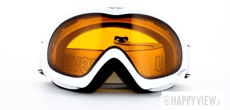 Lunettes de soleil Uvex Uvex Cevron Medium blanc - vue de face