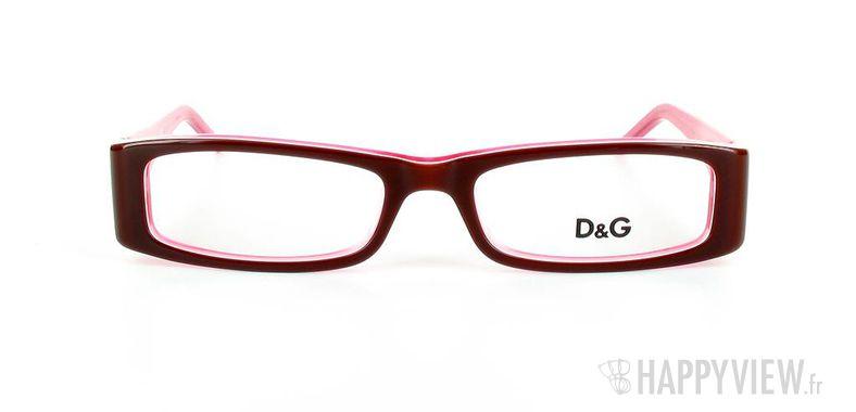 Lunettes de vue Dolce & Gabbana D&G 1127 rouge/rose - vue de face