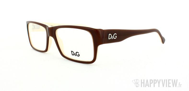 Lunettes de vue Dolce & Gabbana D&G 1210  marron/marron - vue de 3/4