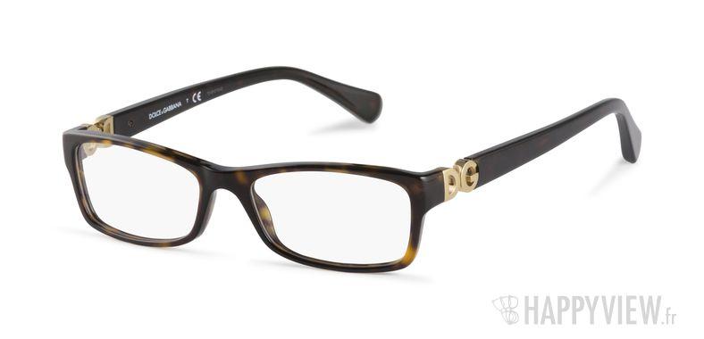 Lunettes de vue Dolce & Gabbana DG 3228 écaille - vue de 3/4