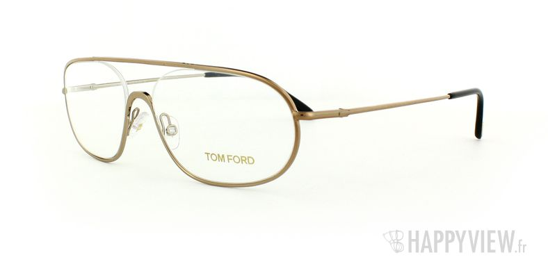 Lunettes de vue Tom Ford Tom Ford 5155 doré - vue de 3/4