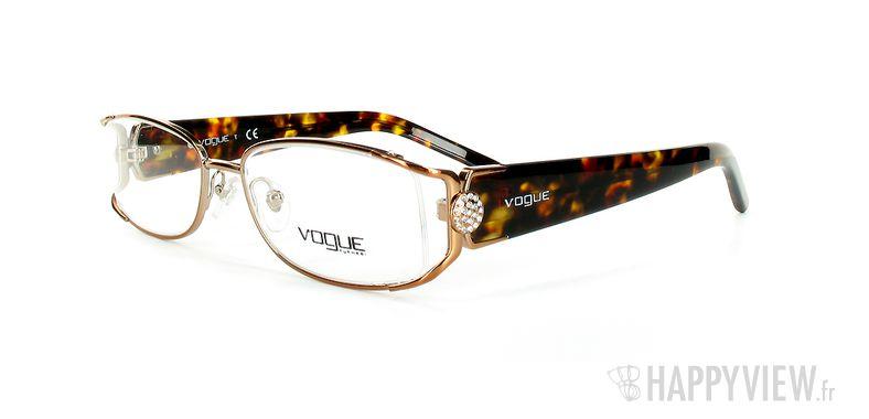 Lunettes de vue Vogue Vogue 3735B écaille - vue de 3/4