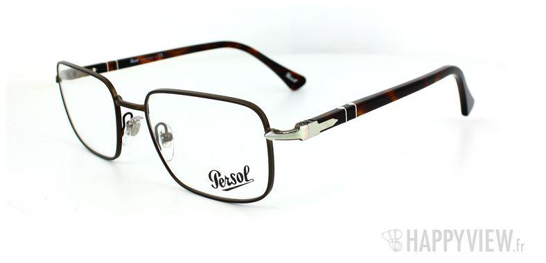 Lunettes de vue Persol Persol 2418V marron - vue de 3/4