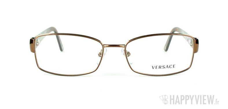 Lunettes de vue Versace VERSACE 1177 marron - vue de face