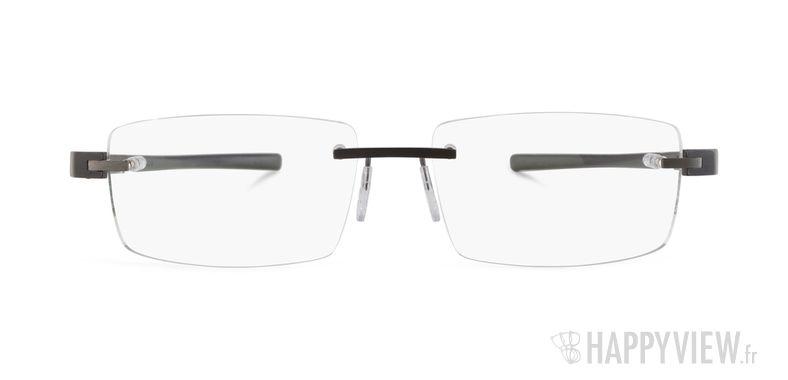Lunettes de vue Tag Heuer TH 3941 gris - vue de face