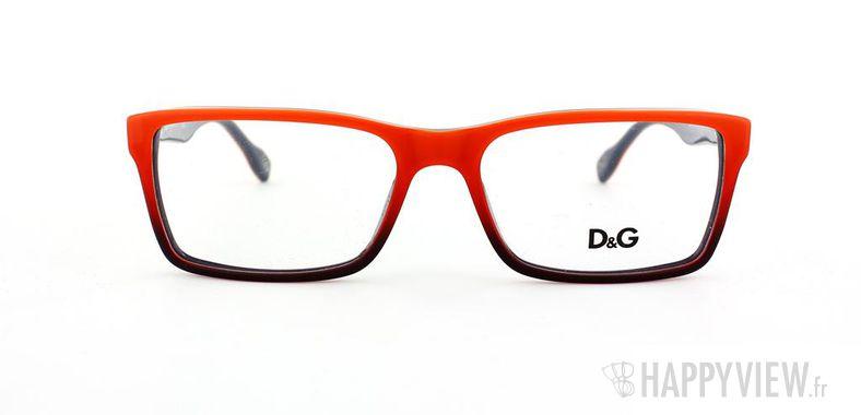 Lunettes de vue Dolce & Gabbana D&G 1233 rouge/bleu - vue de face