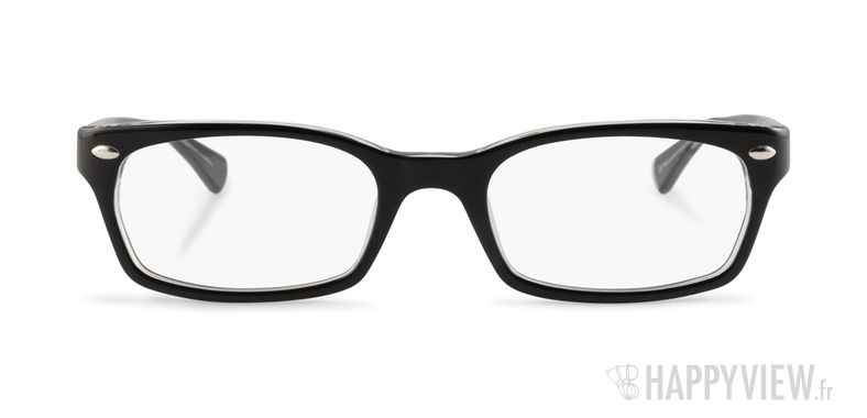 Lunettes de vue Ray-Ban RX 5150 noir - vue de face