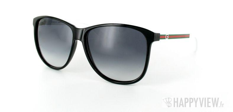 Lunettes de soleil Gucci Gucci 1636 noir - vue de 3/4