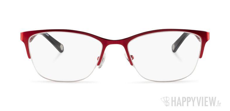 Lunettes de vue Kenzo KZ 2234 rouge - vue de face