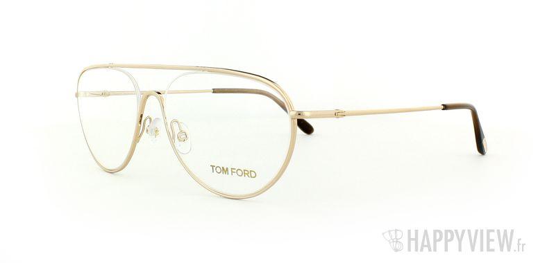 Lunettes de vue Tom Ford Tom Ford 5154 doré - vue de 3/4