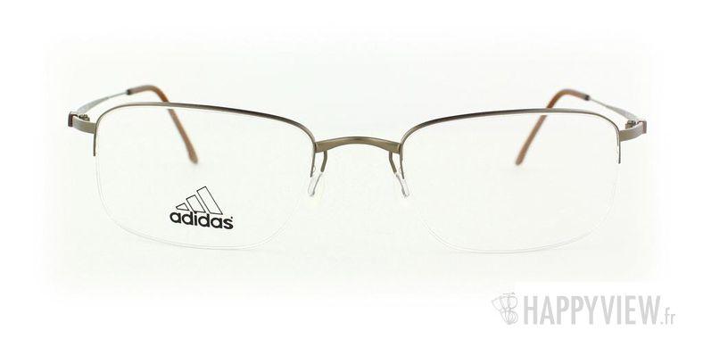 Lunettes de vue Adidas Adidas A761 doré - vue de face