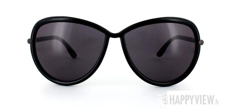 Lunettes de soleil Tom Ford Tom Ford Sabrina noir - vue de face