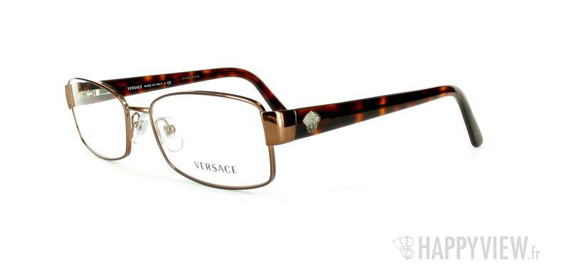 Lunettes de vue Versace VERSACE 1177 marron - vue de 3/4