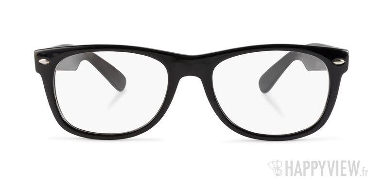 Lunettes de vue Happyview Dinard noir - vue de face