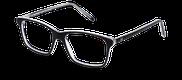 Lunettes de vue Happyview CAMILLE noir - vue de 3/4 miniature
