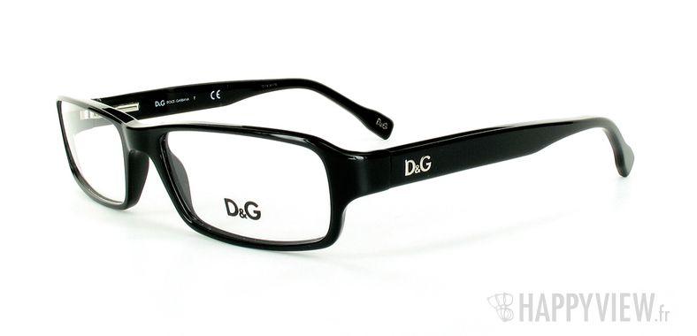 Lunettes de vue Dolce & Gabbana D&G 1188 noir - vue de 3/4