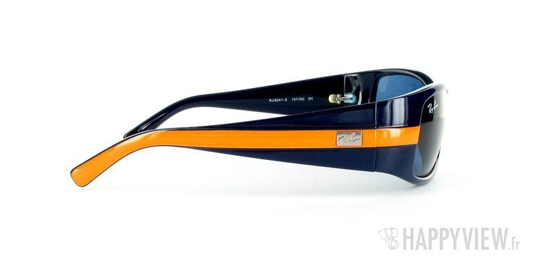 Lunettes de soleil Ray-Ban Ray-Ban Junior RJ9041S bleu/orange - vue de côté