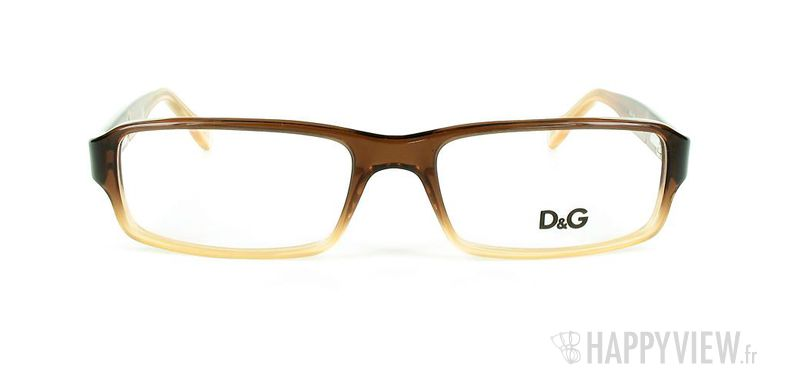Lunettes de vue Dolce & Gabbana D&G 1188 marron - vue de face