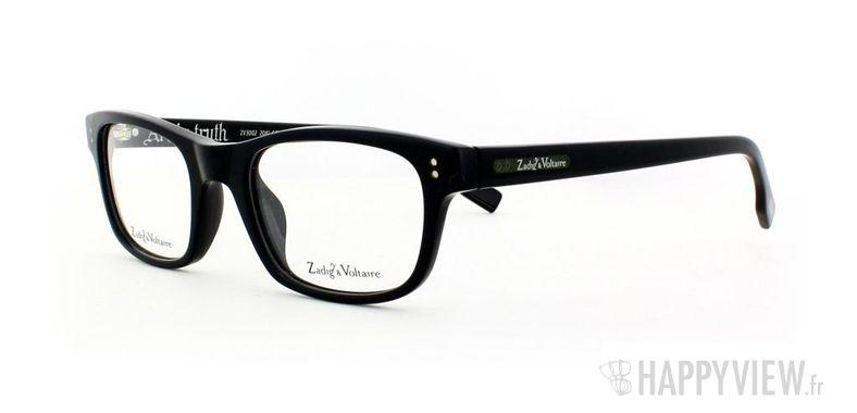 Lunettes de vue Zadig&Voltaire Zadig&Voltaire 3002 noir - vue de 3/4