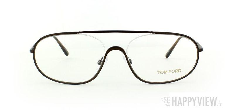 Lunettes de vue Tom Ford Tom Ford 5155 marron - vue de face