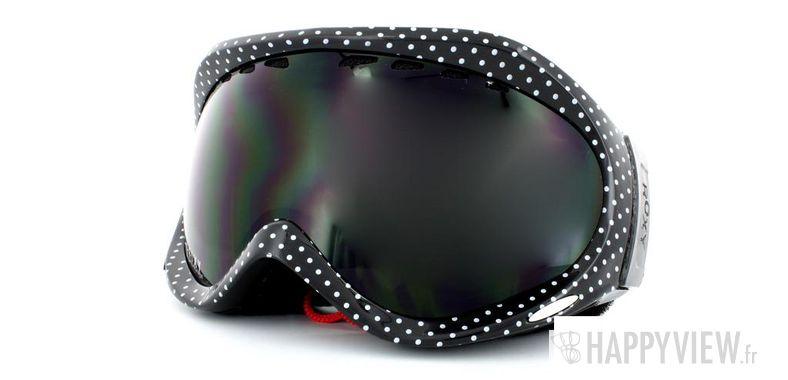 Lunettes de soleil Roxy Roxy The Mist noir/blanc - vue de 3/4