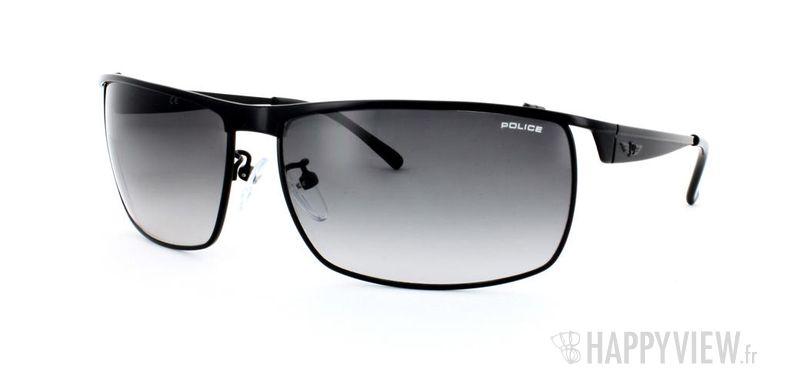 Lunettes de soleil Police Police S8649 noir - vue de 3/4