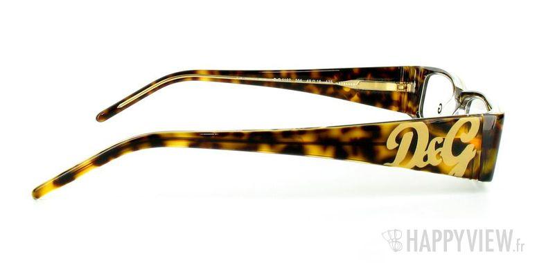 Lunettes de vue Dolce & Gabbana D&G 1127 écaille - vue de côté