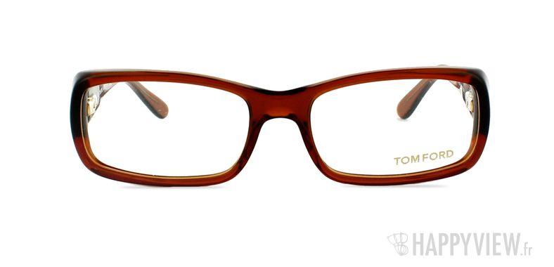Lunettes de vue Tom Ford Tom Ford 5072 Small marron - vue de face