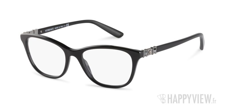 Lunettes de vue Versace VE 3213B noir - vue de 3/4
