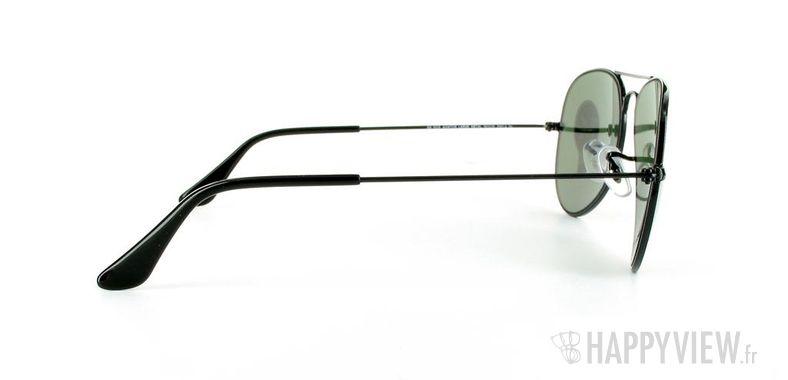 Lunettes de soleil Ray-Ban Ray-Ban Aviator noir - vue de côté