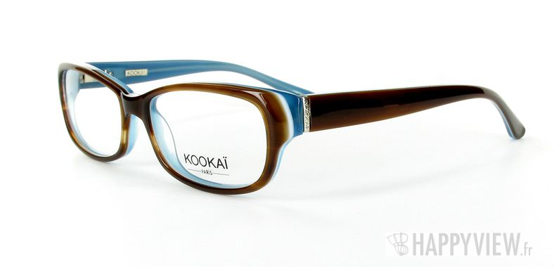 Lunettes de vue Kookaï Kookai 100 marron - vue de 3/4