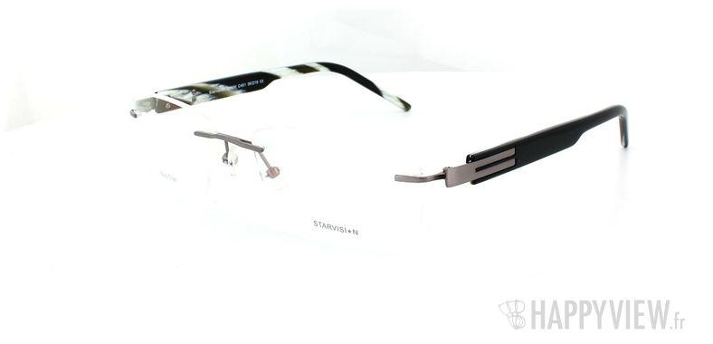 Lunettes de vue Starvision by Seiko Starvision 1026 Titane gris - vue de 3/4