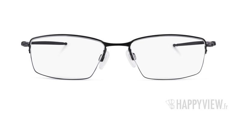 Lunettes de vue Oakley Lizard Titane noir - vue de face