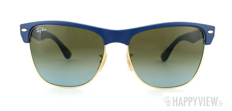 Lunettes de soleil Ray-Ban RB 4175 bleu/doré - vue de face