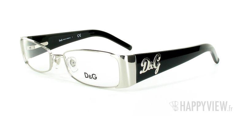 Lunettes de vue Dolce & Gabbana D&G 5049 gris/noir - vue de 3/4