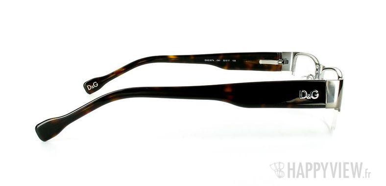 Lunettes de vue Dolce & Gabbana D&G 5074 gris/écaille - vue de côté