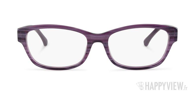 Lunettes de vue Calvin Klein CK 5836 violet - vue de face