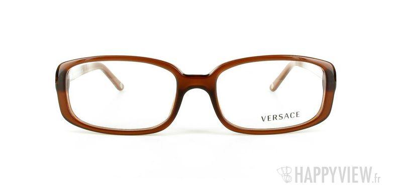 Lunettes de vue Versace VERSACE 3132H marron - vue de face