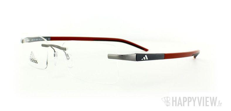 Lunettes de vue Adidas Adidas A636 gris/rouge - vue de 3/4