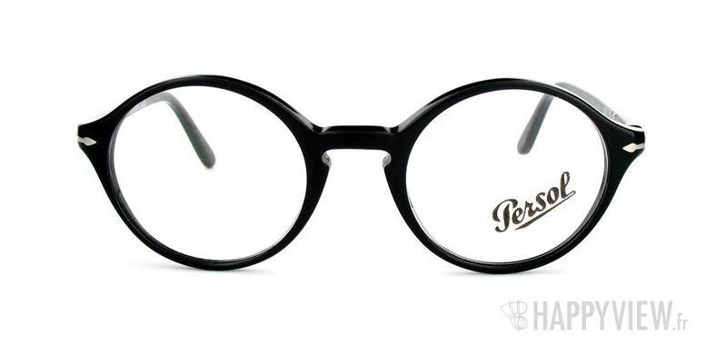 Lunettes de vue Persol Persol 3002V noir - vue de face