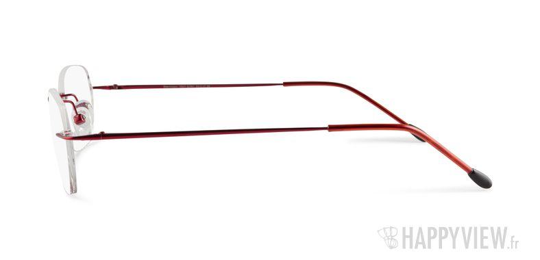 Lunettes de vue Starvision by Seiko 1031 Titane rouge - vue de côté