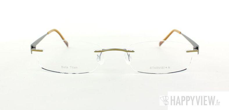 Lunettes de vue Starvision by Seiko Starvision 1010 Titane doré - vue de face