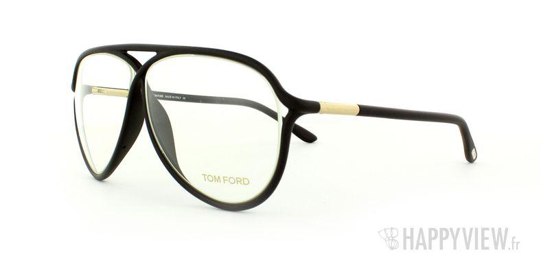 Lunettes de vue Tom Ford Tom Ford 5220 marron - vue de 3/4