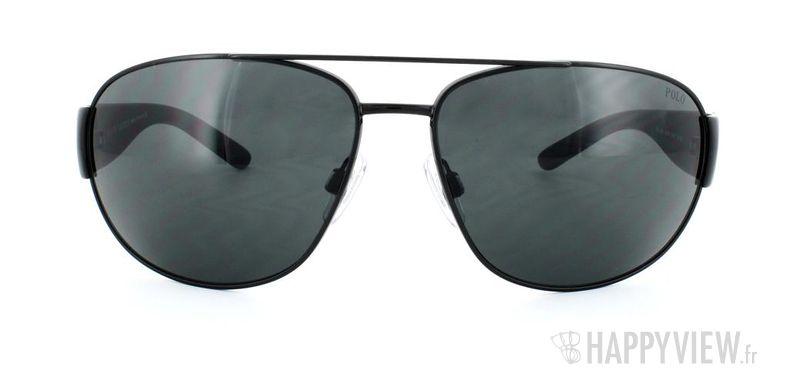 Lunettes de soleil Polo Ralph Lauren Polo Ralph Lauren 3052 noir - vue de face