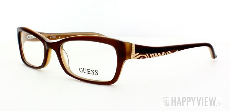 Lunettes de vue Guess Guess 2261 marron - vue de 3/4