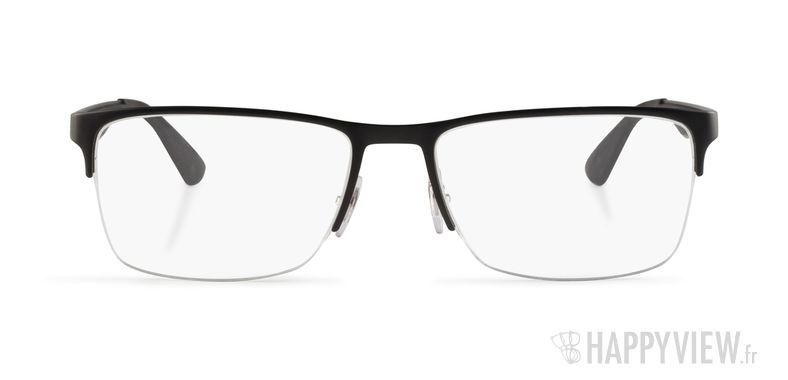Lunettes de vue Ray-Ban RX 6335 noir - vue de face